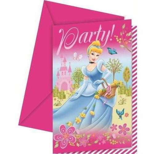 Pozostałe zabawki, Zaproszenia i koperty Księżniczki po 6 szt. DISNEY