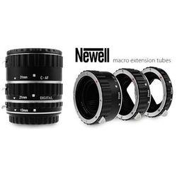 NEWELL Pierścienie pośrednie makro z automatyką - Canon EOS metalowe
