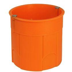 Puszka podtynkowa Simet 60mm głęboka z wkrętami pomarańczowa /50szt./ Z60DFw 33035008