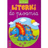 Książki dla dzieci, Literki do pisania 5-7 lat (opr. miękka)