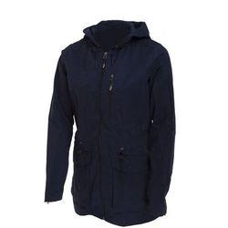 Damski płaszcz parka KUD604 Outhorn - Granatowy