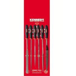 Zestaw pilników diamentowych igiełkowych 6szt. 16cm ziarno 120-140 Kennedy KEN0330500K