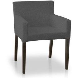 Dekoria Sukienka na krzesło Kautsby bez wiązań Loneta 133-36, krzesło Kautsby