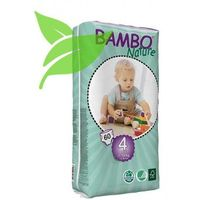 Pieluchy jednorazowe, Eko Pieluszki Jednorazowe Maxi 7-18 kg (60szt.), Bambo Nature ABENA