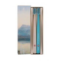 Curaprox 5460 Ultra Soft Limited Edition szczoteczka do zębów 2 szt unisex Beige & Turquoise