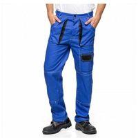 Kombinezony i spodnie robocze, Spodnie do pasa ICARUS AVACORE w kolorze niebiesko-czarnym