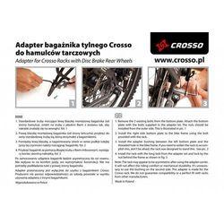 Adapter do hamulców tarczowych Crosso - 25mm crosso (-13%)