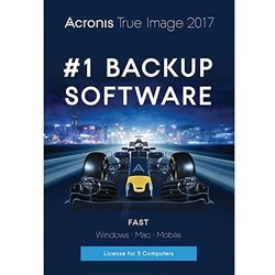 Acronis True Image 2017 5 PC