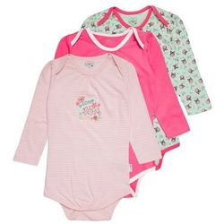 Gelati Kidswear LONGSLEEVE LOVE NATURE 3 PACK Body multicolor