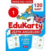 Książki dla dzieci, EduKarty. Język angielski dla klasy 1 - Paszylk Bartłomiej - książka (opr. broszurowa)
