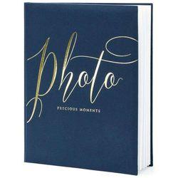 """Album na zdjęcia """"Precious Moments"""", PartyDeco, 20 x 24,5 cm, czarny, 22 kartki"""