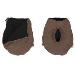 ALTABEBE Mufka Alpin - ocieplacz rąk na wózek dziecięcy kolor oliwkowy - kolor czarny