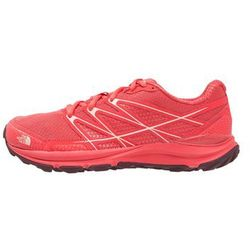 The North Face LITEWAVE ENDURANCE Obuwie hikingowe cayenne red/tropical peach