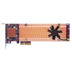 Karta rozszerzeń do serwera NAS QNAP QM2-4P-342 PCI-E x4 Gen 3 4x NVMe M.2 2280 LP