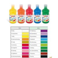 Farbki, Farba tempera HAPPY COLOR Premium 500ml nr 26 - ciemnoczerwona
