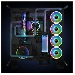 THERMALTAKE Riing Trio 12 LED RGB Plus TT Premium (3x120mm, 500-1400 RPM) CL-F072-PL12SW-A