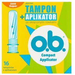o.b. tampony z aplikatorem 16 Super