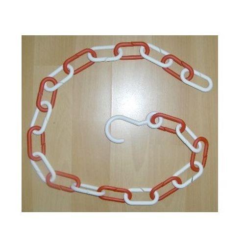 Łańcuchy, ŁAŃCUCH plastikowy Biało-czerwony