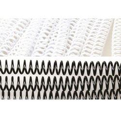 Grzbiety do bindowania spiralne, białe, 12 mm, 100 sztuk, oprawa do 90 kartek - Super Ceny - Rabaty - Autoryzowana dystrybucja - Szybka dostawa - Hurt