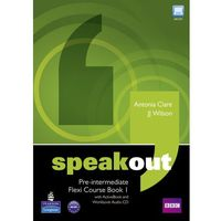 Książki do nauki języka, Speakout pre-intermediate flexi course book 1 with ActiveBook and workbook audio CD (opr. miękka)
