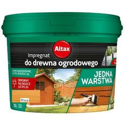 ALTAX- impregnat do drewna ogrodowego, pinia, 10 l