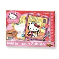 Kolorowanki, Zabawka SIMBA Hello Kitty w kuchni - malowanka 609140460