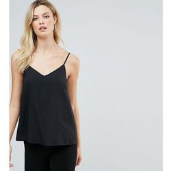 ASOS DESIGN Tall swing cami with double layer - Black