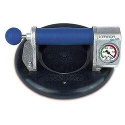 Podnośnik przyssawkowy, bezpieczna nośność 120 kg, manometr, Ø tarczy 210 mm. Do