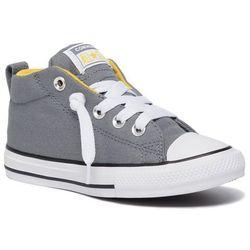 Trampki CONVERSE - Ctas Street Mid 665132C Cool Grey/Vivid Sulfur/White