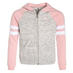 Abercrombie & Fitch COLORBLOCKED CORE FULLZIP Bluza rozpinana light grey/pink