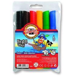 KOH-I-NOOR Flamastry 6 kolorów Jumbo (WIKR-913299) Darmowy odbiór w 21 miastach!