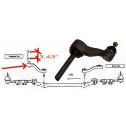 Ramie prowadzące mechanizm układu kierowniczego Ford F150 K8747 rozstaw 3,43