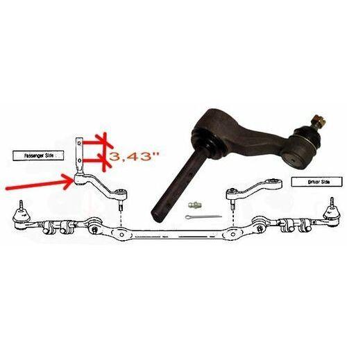 Ramiona prowadzące, Ramie prowadzące mechanizm układu kierowniczego Ford F150 K8747 rozstaw 3,43