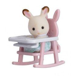 Przenośny zestaw dla dziecka (królik na krzesełku dziecięcym)