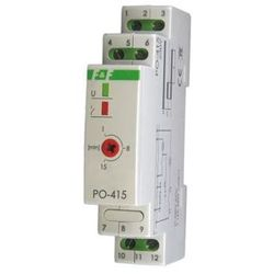 Przekaźnik czasowy PO-415 230V F&F