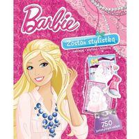 Książki dla dzieci, Barbie. Teczka stylistki (opr. miękka)