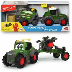 Dickie traktor happy fendt i przetrząsacz, 30 cm