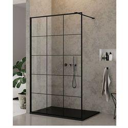 Ścianka prysznicowa 90 EXK-0104 New Modus Black New Trendy