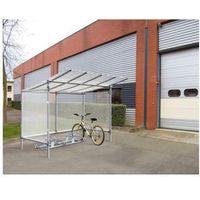 """Pozostała odzież robocza i BHP, Wiata rowerowa aluminiowa typu """"Eco"""" - 5 stanowisk dla rowerów"""