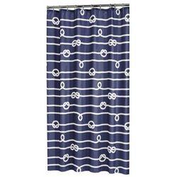 Sealskin Zasłona prysznicowa Rope, 180 cm, niebieska, 233761322 Darmowa wysyłka i zwroty