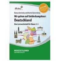 Pozostałe książki, Wir gehen auf Entdeckungstour: Deutschland, Set mit CD-ROM Kaminsky, Bianca