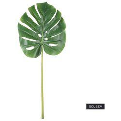 SELSEY Sztuczny kwiat Ilmur Monstera liść 72 cm