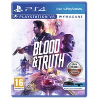 Gry na PS4, VR Blood & Truth (PS4)