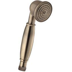 Rączka prysznicowa OMNIRES Art Deco-R Brąz antyczny