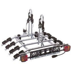Tytan Plus 4 Platforma rowerowa na 4 rowery - Bagażnik rowerowy na hak + DOSTAWA GRATIS | SKLEPY WARSZAWA ul. Grochowska 172, ul. Modlińska 237