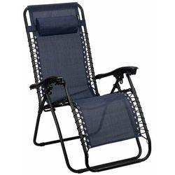 Krzesło ogrodowe leżak składany Chaise Longue IV Abbey Camp