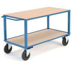Wózek warsztatowy - wymiary: 830x700x1400 mm - bez hamulca