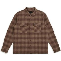koszula BRIXTON - Archie L/S Flannel Cream/Brown (CRBRN) rozmiar: L