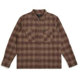 koszula BRIXTON - Archie L/S Flannel Cream/Brown (CRBRN) rozmiar: M