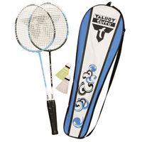 Badminton i speedminton, Zestaw badminton Talbot Attacker 2 rakietki + 2 lotki